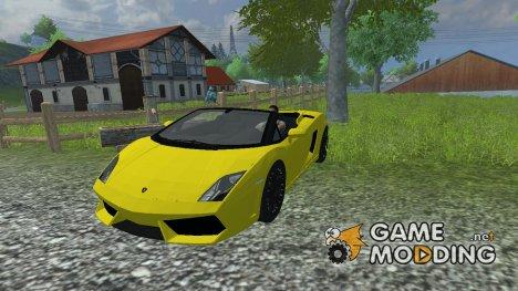 Lamborghini Gallardo для Farming Simulator 2013