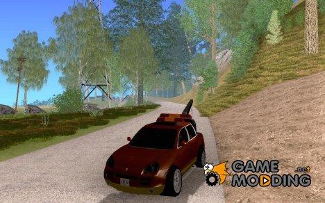 Porsche Cayenne Towtruck для GTA San Andreas