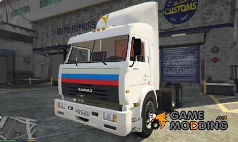 КамАЗ 54115 для GTA 5