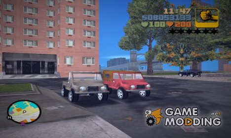 ЛуАЗ 969М v 2.0 for GTA 3