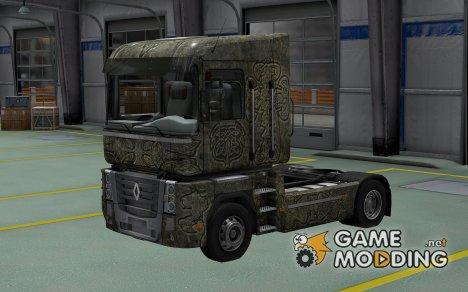 Скин Celtic для Renault Magnum for Euro Truck Simulator 2