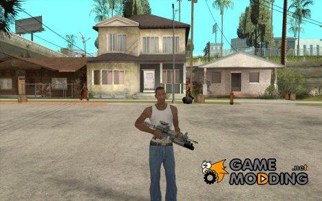 M4 из S.T.A.L.K.E.R'a для GTA San Andreas