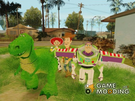 Toy Story for GTA San Andreas