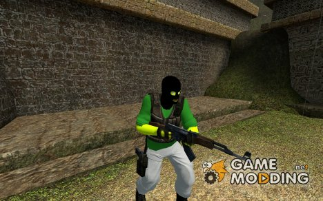 Masked Nub Flanders для Counter-Strike Source