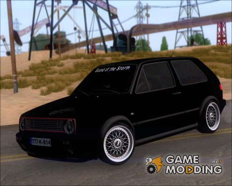 Volkswagen Golf MKII Storm (Tuning Billy Agic) для GTA San Andreas