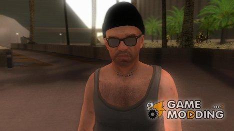 Trevor GTA V Hipster Skin для GTA San Andreas
