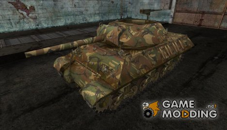 шкурка для M10 Wolverine №10 для World of Tanks