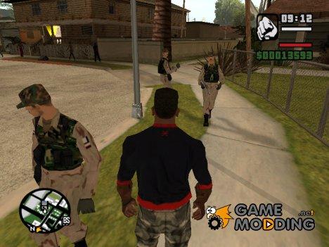 Современная армия v2.0 for GTA San Andreas