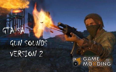 GUN Sounds v2 for GTA San Andreas