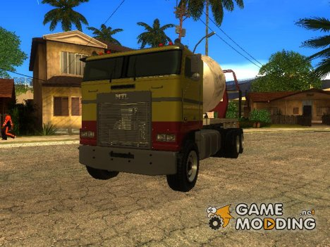 Cement Truck из GTA IV for GTA San Andreas