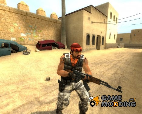 AL-Qaida Guierilla W/ Tattoo for Counter-Strike Source