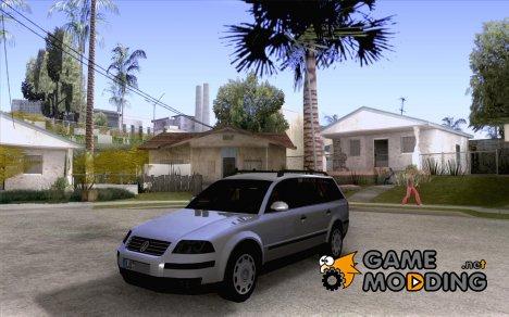 Vw Passat B5+ Wagon 1,9 TDi для GTA San Andreas