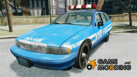 Chevrolet Caprice Police Station Wagon 1992 for GTA 4