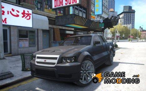 Contender из GTA 5 для GTA 4