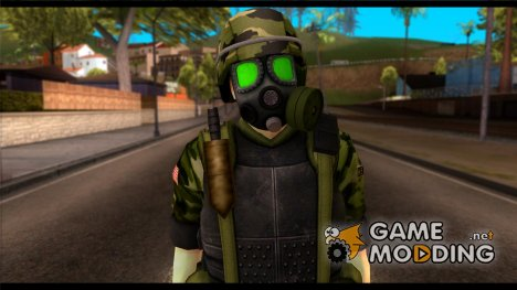 Hecu Soldier 3 from Half-Life 2 for GTA San Andreas
