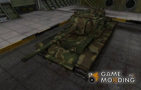 Скин для танка СССР КВ-4 для World of Tanks