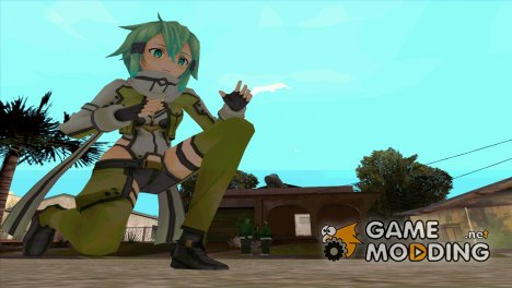GGO Sinon for GTA San Andreas