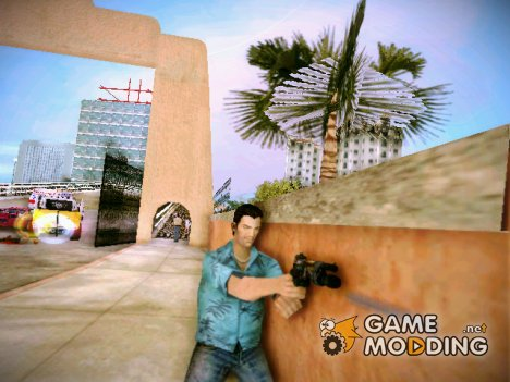 Пистолет из Bulletstorm for GTA Vice City