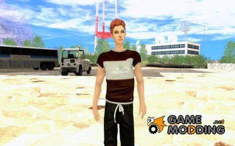 Рыжий парень для GTA San Andreas