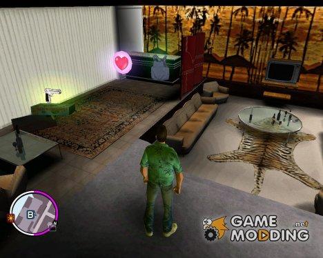 Новые текстуры для особняка для GTA Vice City