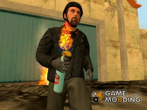 Molotov cocktail Grand Theft Auto 4 for GTA San Andreas