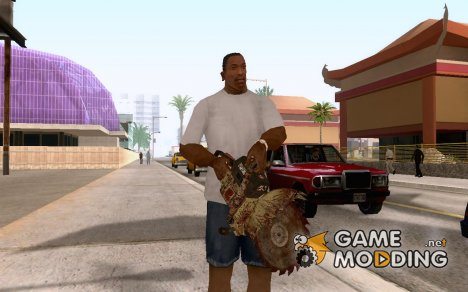 Новая бензопила для GTA San Andreas
