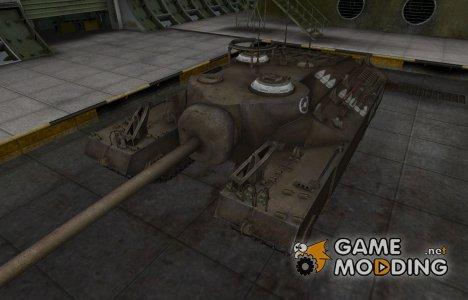 Зоны пробития контурные для T95 для World of Tanks