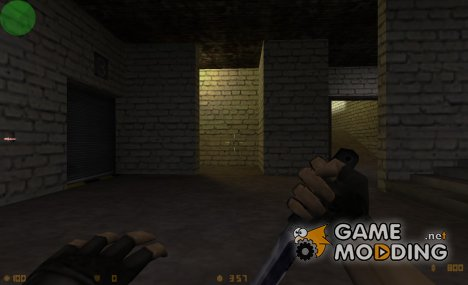 Biohazard knife для Counter-Strike 1.6