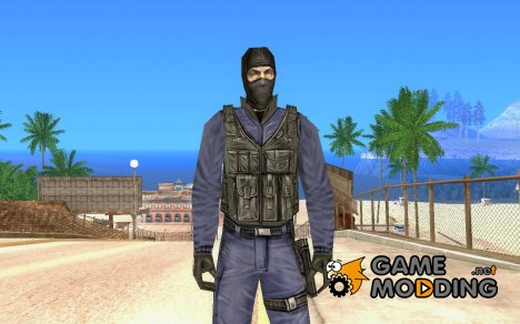 GIGN из Counter-Strike на замену fam1 for GTA San Andreas