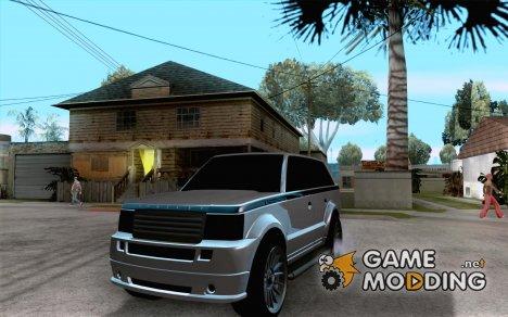 Huntley из GTA 4 for GTA San Andreas