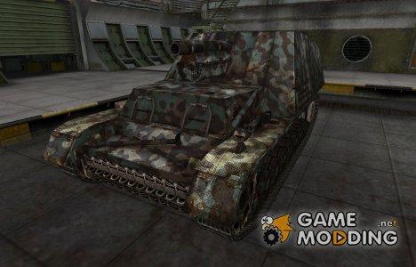 Горный камуфляж для Hummel для World of Tanks