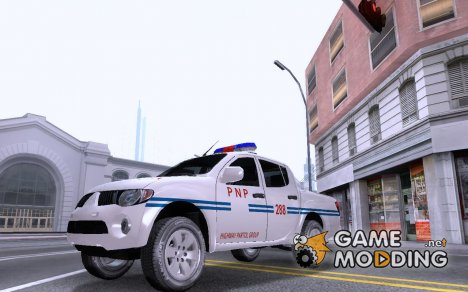 Mitsubishi Strada Philippine National Police - HPG для GTA San Andreas