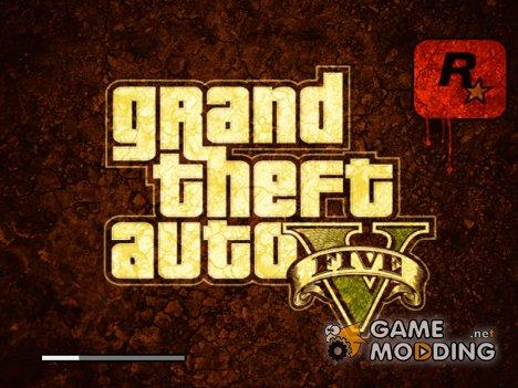 Загрузочное меню GTA V for GTA San Andreas