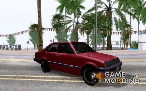 Chevrolet Chevette 1993 1.0 for GTA San Andreas