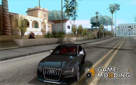 Audi S5 Black Edition for GTA San Andreas