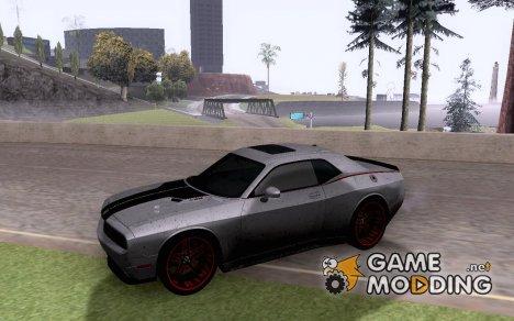2010 Dodge Quinton Rampage Jackson Challenger SRT8 V1.0 для GTA San Andreas