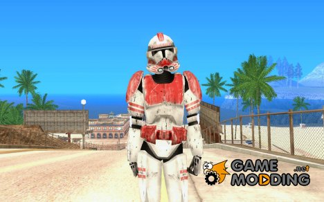 Красный клон из Star Wars for GTA San Andreas