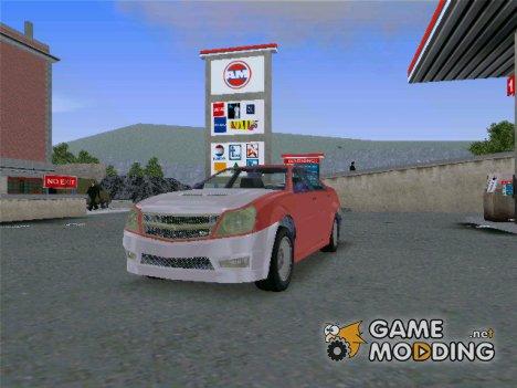 Stinger из GTA EFLC гражданский для GTA 3