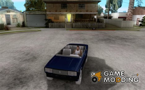 Ваз 2105 Кабриолет v1.3 for GTA San Andreas