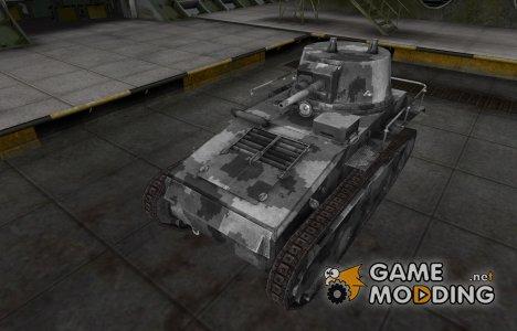 Камуфлированный скин для Leichttraktor для World of Tanks