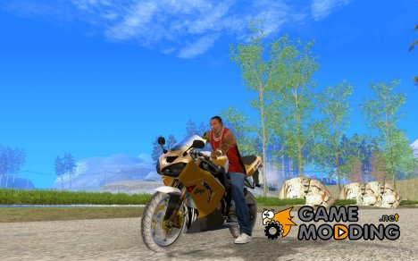 Kawasaki Ninja ZX10R для GTA San Andreas