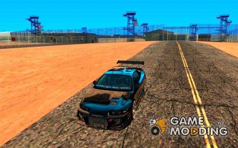 Mitsubishi Eclipse DriftStyle for GTA San Andreas