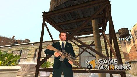 Марксманская винтовка M110 для GTA 4