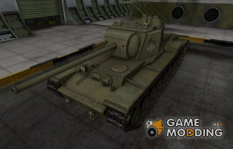 Скин с надписью для КВ-4 для World of Tanks