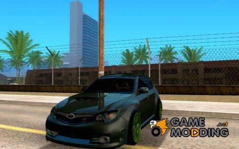 Subaru WRX STI JDM для GTA San Andreas