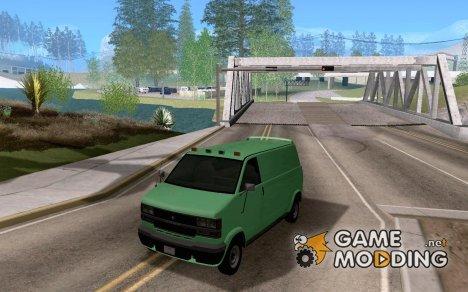 Declasse Burrto 2007 для GTA San Andreas