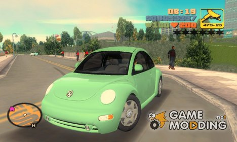 Volkswagen New Beetle for GTA 3