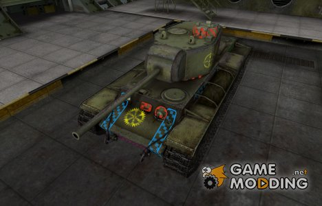 Качественные зоны пробития для КВ-3 для World of Tanks