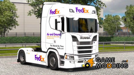 FedEx для Scania S580 for Euro Truck Simulator 2