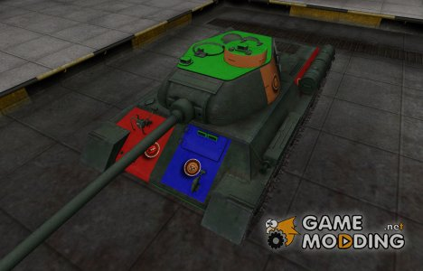 Качественный скин для T-34-1 для World of Tanks